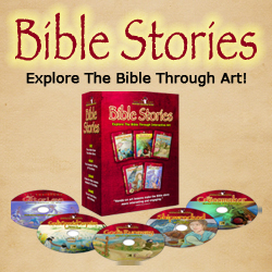 unique art supplies for kids, Bible art for kids dvds